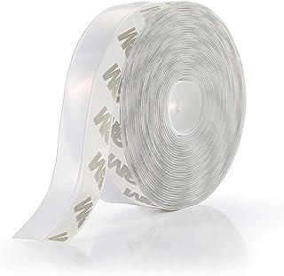 すき間風防止テープ ドア下部シールテープ 冷暖房効率アップ 省エネ 騒音軽減 ホコリ侵入防止 隙間目隠 夏涼しく 冬暖かく 両面テープ式 自動ドア サッシ 扉の隙間 窓枠 シール 半透明 お徳用6m