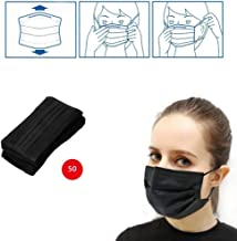 50 pcs 3-Ply Anti-Dust Disposable Surgical Medical Salon Earloop Face Mouth Masks Facial mask