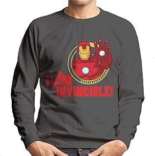 MARVEL Avengers Iron Man I Am Invincible Men's Sweatshirt