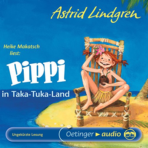 Pippi in Taka-Tuka-Land cover art