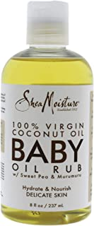 Shea Moisture 100 Percent Virgin Coconut Oil Baby Oil Rub By Shea Moisture for Kids - Oil, 8 Ounce