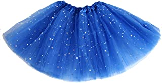 cdaa40eee37b1 AMORETU Jupe Tutu Femme Pettiskirt Mini Robe de Danse de Ballet en Tulle