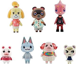 Bandai Shokugan - Animal Crossing: New Horizons Villager Flocked Doll Collection, (Complete Figure Set) (BAN62706)