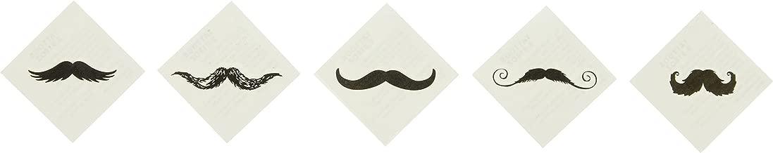 Fun Express Fingerstache Movember Mustache Party Tattoos (72 Pack)