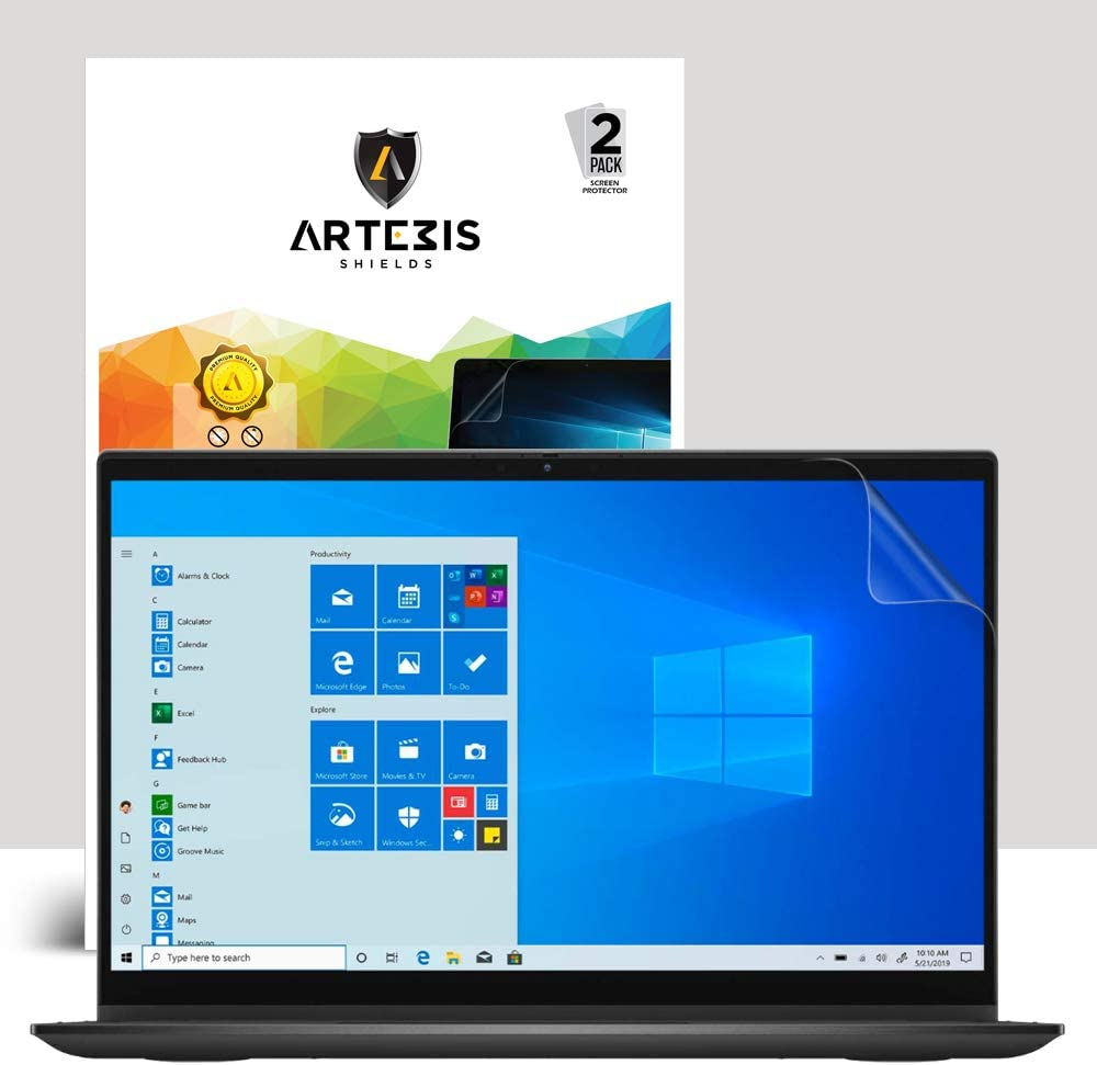 Anti Glare Matte Screen Protector with Full Screen Coverage for Dell Inspiron 7000 2-in-1 13.3 (7306) Touch Screen BY Artemis Shields [2 Pack]