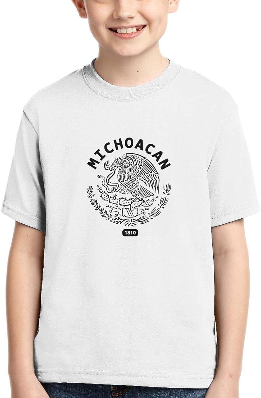 Daoaomaoyi Michoacan Boys 3D Kids Tshirt Clothing Soft Casual