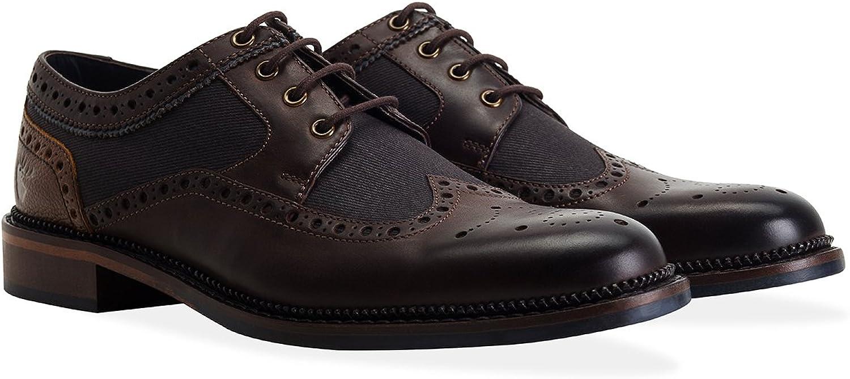 Goodwin Goodwin Goodwin Smith Eaves läder Twill bspringaaa herr Brogue skor  högkvalitativa varor och bekväm, ärlig service