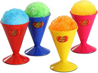 Jelly Belly JB15627 Reusable Snow Cone Cups 4-Pack, 6-Ounces, Multicolored (Discontinued by Manufacturer)