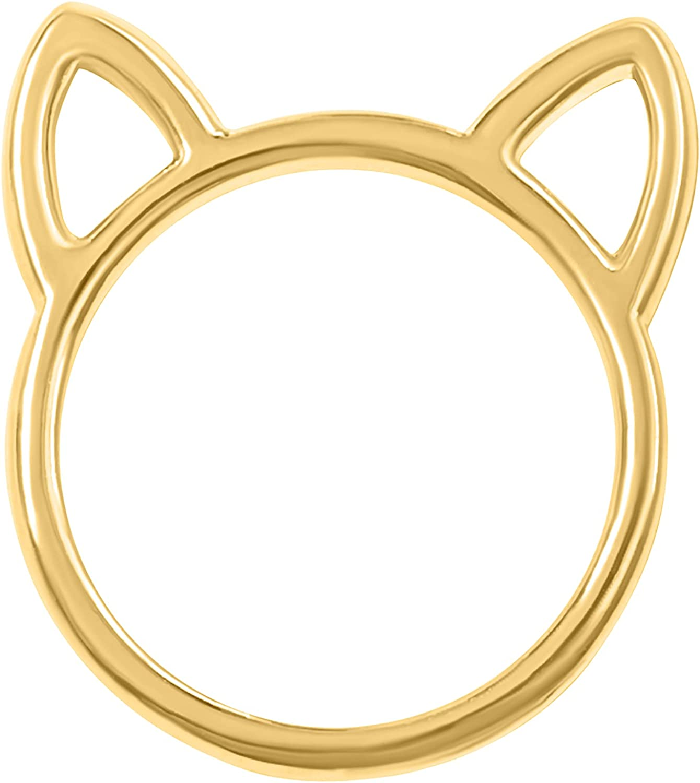 ONDAISY Animal Cat Ear Wrap Around Band Ring