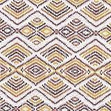 Dekostoff Canvas Ethno – orange/weiss — Meterware ab