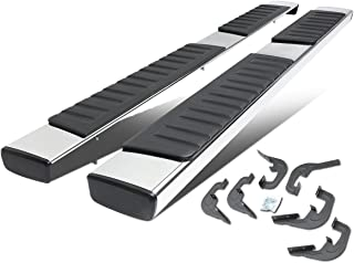 6 Inches Stainless Steel OE Style Side Step Nerf Bar Running Board for Silverado/GMC Sierra Extended Cab 07-18