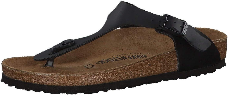 Birkenstock Gizeh 043691 Mens Sandals 2021 new Dallas Mall Black
