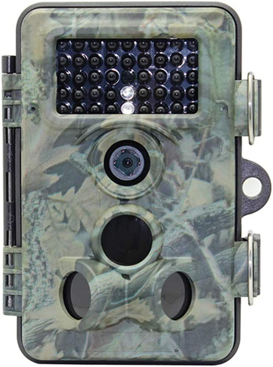 "Trail Camera –2.4"" LCD Screen,42 IR LEDs &12MP 1080P Full HD Wildlife Scouting Hunting Camera with Motion Activated Night Vision, 120° Wide Angle Lens, IP66 Waterproof Game Camera"