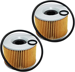 2 Pack Yerbay Motorcycle Oil Filter for Yamaha FJ1100 FJ 1100 1984-1986 / FJ1200 Legend CAR 1200 1986-1993