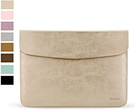 KALIDI Laptop Sleeve Bag for MacBook Air 13 Inch/MacBook Air Pro Retina 13 Inch/Surface Pro3 with Keyboard Gold BH003L