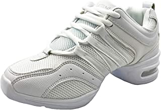 ORANXIN Zapatos de Baile Mujer - Zapatillas Deporte Cordones Malla Jazz Contemporáneo Aire Libre Deportivas Danza Sneaker (Zapatos es más pequeña)