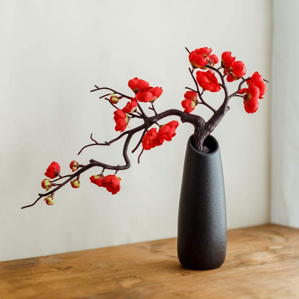 TUANJIE 1 Pcs Omaha Mall Artificial Plum Fake Blossoms Fl All items in the store Blossom Silk