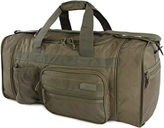 Highland Tactical Elite Dark Green (Olive Drab) Tactical Duffle Bag - HLSD84-DG