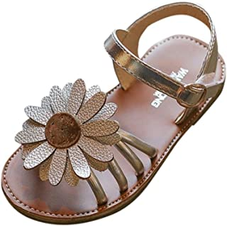 842cb223dba83 Ouneed® EU20-34 Bebe Fille Sandales Fleur ETE Chaussures de Princess  Ceremonie