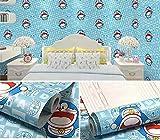 Muebles Armario Reacondicionado 10M * 45cm Humedad impermeable Papel pintado autoadhesivo Dormitorio del bebé Dormitorio del estudiante Pegatinas de pared-5 5_Los 0.45 * 10m