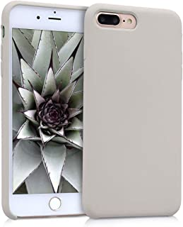 kwmobile TPU Silicone Case Compatible with Apple iPhone 7 Plus / 8 Plus - Slim Protective Phone Cover with Soft Finish - B...