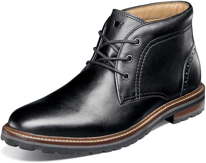 Florsheim herrar Estabrook Chukka Boot Boot Boot svart Smooth 10 D USA  bästa erbjudande