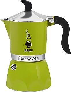 Bialetti Fiammetta Stovetop Espresso Maker (3-Cup, Green)
