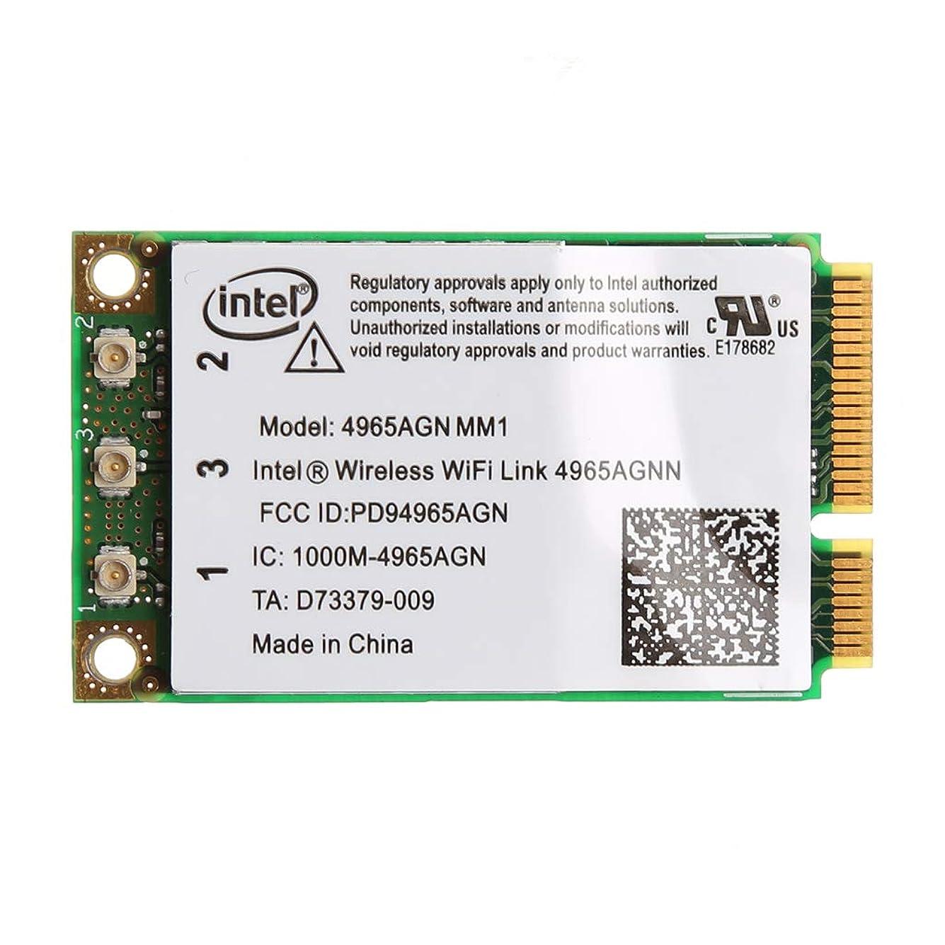 注目すべき砂利安定したBbbbaby 4965AGN NM1用のデュアルバンド300Mbps WiFiリンクミニPCI-Eワイヤレスカード