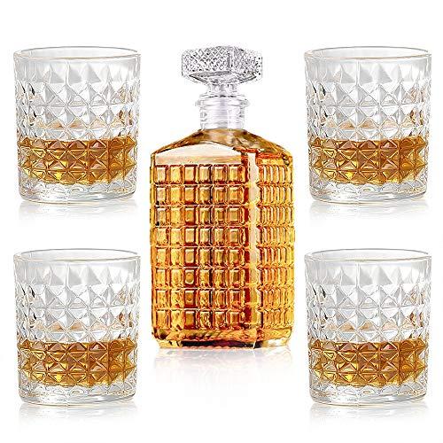 New rui cheng Vaso de Whisky Decantadores de Licor de...