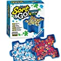 Ravensburger Sort and Go Jigsaw Puzzle Accessory - Sturdy and Easy to Use Plastic Puzzle Shaped Sorting Trays for Puzzles Up to 1000 Pieces from Ravensburger
