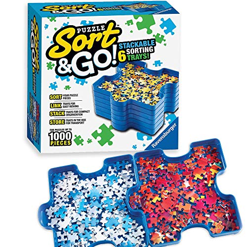 Amazon - Ravensburger Sort and Go Jigsaw Puzzle Sorting Trays $5