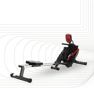 SportPlus Åddrapparat vikbar för hem, TÜV-godkänd, tyst och underhållsfri magnetbromssystem, kullager roddstol, träningsdator