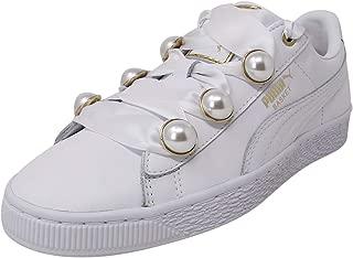 Women's Basket Bling Leather Fashion Sneaker
