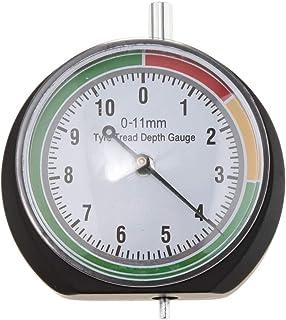 FLAMEER autoaccessoires bandenprofielmeter - dieptemeter - profieldieptemeter - meetbereik 0-11 mm voor personenauto's, vr...