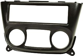 tomzz Audio 2438 005 Radioblende kompatibel mit Nissan Almera N16 2000 2006 schwarz