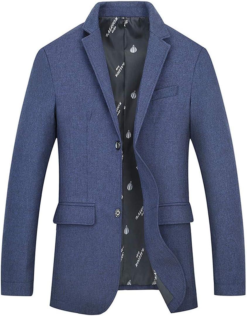 Har&Jensilln Mens Suits and Dress Suit Jacket Slim Fit Wedding Jackets Suit Jacket