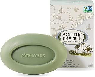Cote d'Azur - South of France Natural Body Care Triple Milled Large 6OZ Bar Soap (4 Bars)