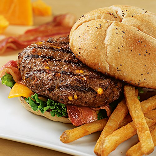 Cheddar Bacon Steakburgers, 12 count, 4.5 oz each from Kansas City Steaks