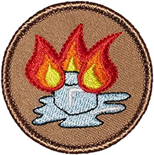 Flaming Ice Cube Patrol Patch - 2