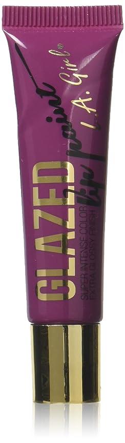 作物モスク花火LA GIRL Glazed Lip Paint - Daring (並行輸入品)
