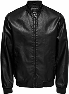 Only & Sons ONSAKSEL PU BOMBER JACKET OTW VD Heren Jas