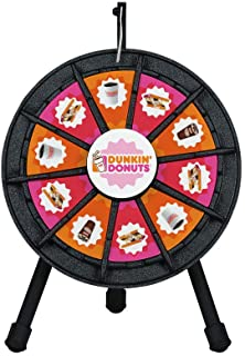 Tabletop Prize Wheel 10 Slots (14 Inch Diameter)