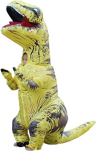 venderse como panqueques Disfraz de Dinosaurio Inflable para Niños Adulto Halloween Dress Dress Dress Up  colores increíbles
