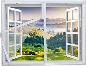 Universeel raamnet,Indoor Cat veiligheidsbescherming Netting met ritssluiting, vliegenscherm muggenbestendig net, insecten...