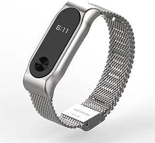 Pulseira Relógio Xiaomi MI BAND 2 Aço (Prata)