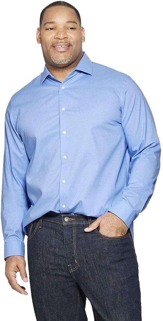 Goodfellow & Co Men's Big & Tall Standard Fit Northrop Long Sleeves Button-Down Shirt -