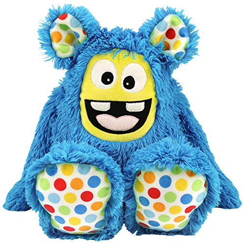 kullaloo - Näh-Set/Materialset zum Selber Machen: Zottel Monster MemoMonsti 2016 inkl. Schnittmuster in blau und in schicker Dose