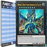 Andycards Yu-Gi-Oh! - Numero 62: Drago FOTONICO PRIMORDIALE Occhi GALATTICI - Ultra Rara BLLR-IT070 in Italiano + Segnapunti
