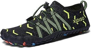XIDISO Mens Womens Water Shoes Lightweight Quick DryBarefoot for Swim Diving Surf Aqua Socks Sports Pool Beach Walking Yoga