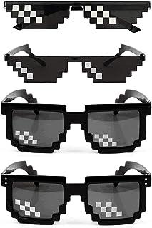 ae45a3274d GAGMAS - Juego de 4 Gafas de Sol Life Hombre y Mujer, Cristal de 8